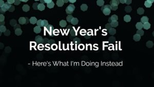 New Year's Resolultions